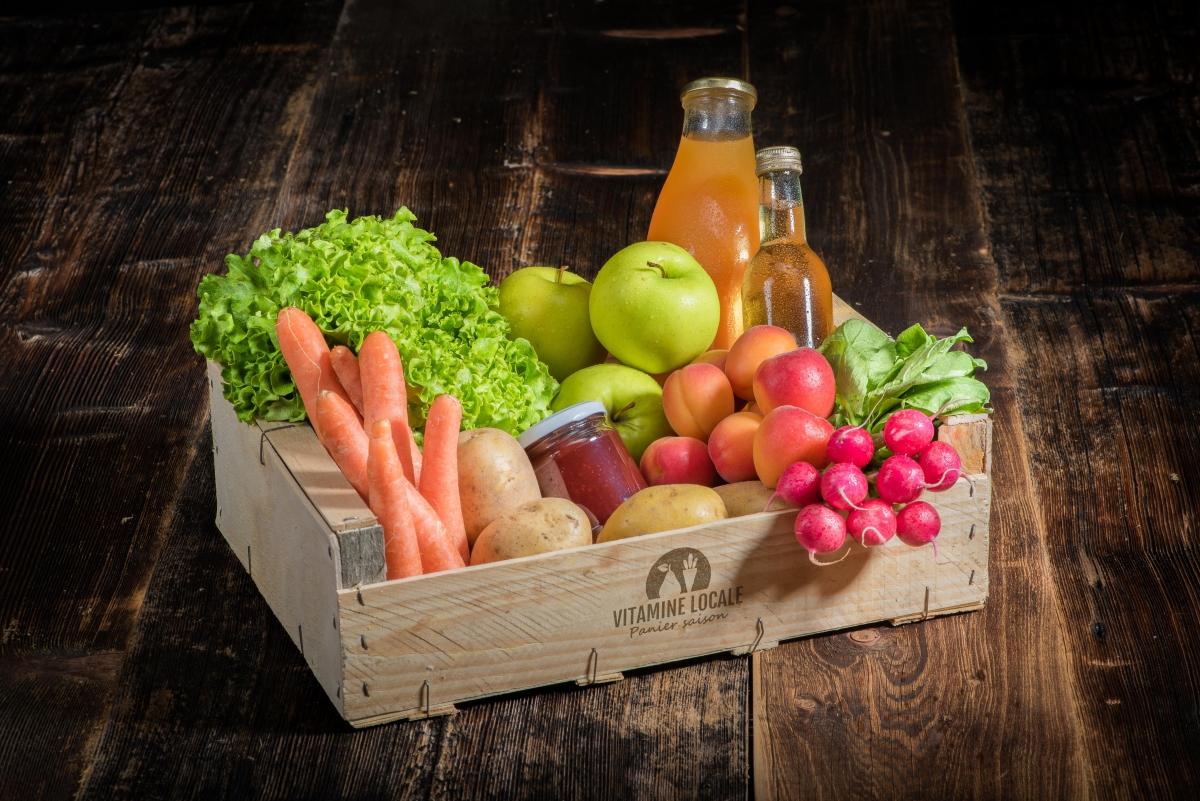 Paniers de fruits et légumes frais - livraison à domicile
